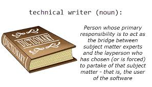 technical writing dictionary image